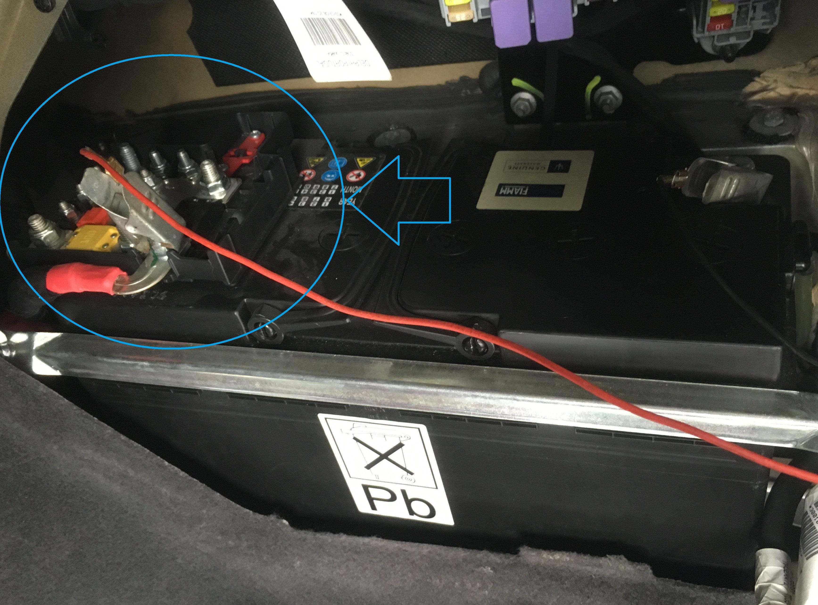 Batterie Quattroporte V Batterie-Fiamm-QP5