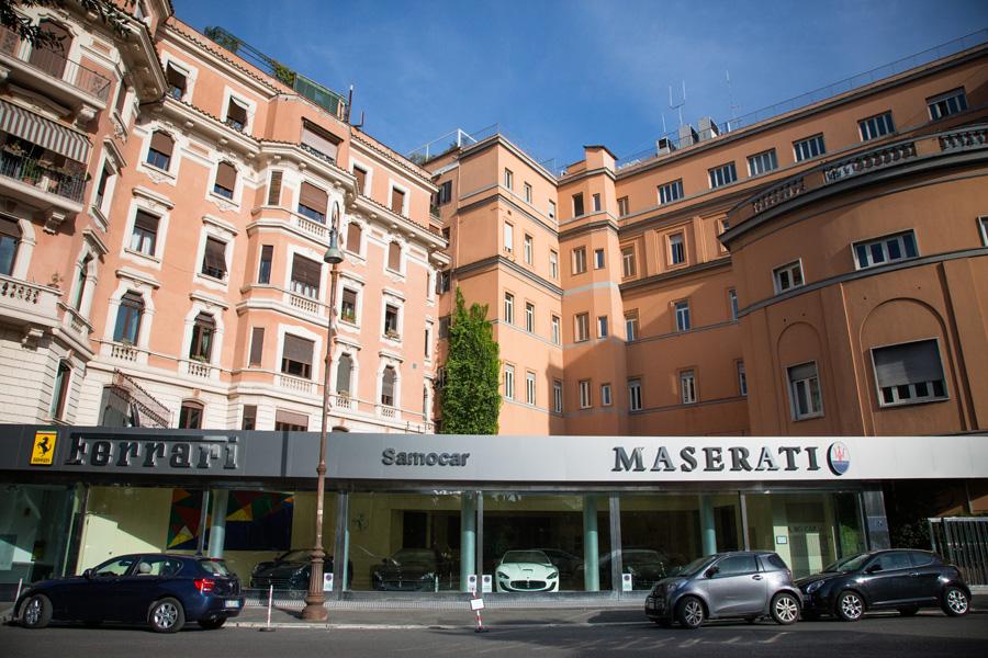 Photos concessions Maserati Maserati-Roma1